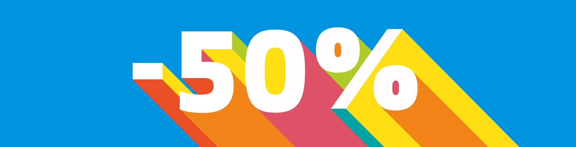 SALE -50%