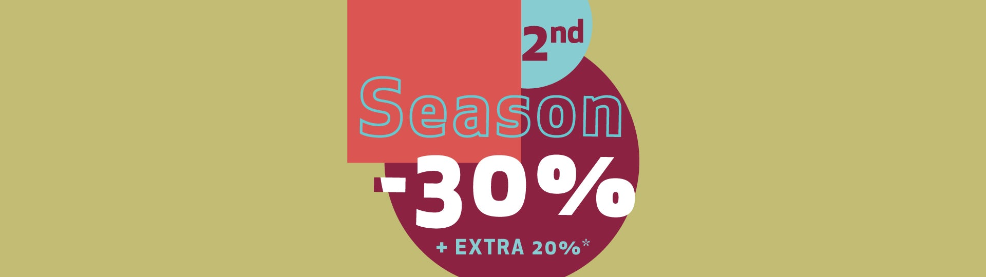 Second Season - 30%