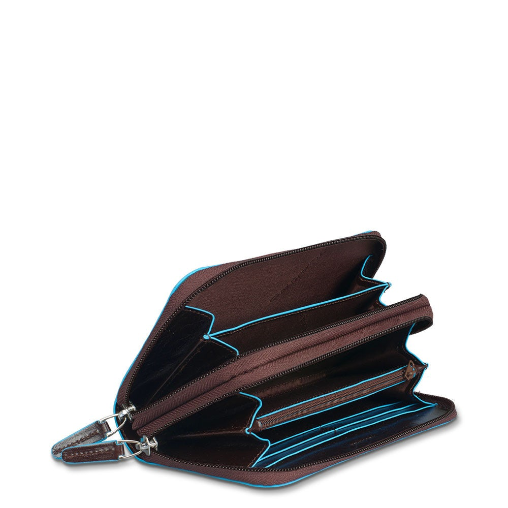 Women s wallet with double zipped compartment - Women s wallets ... 9bda0e5d4b