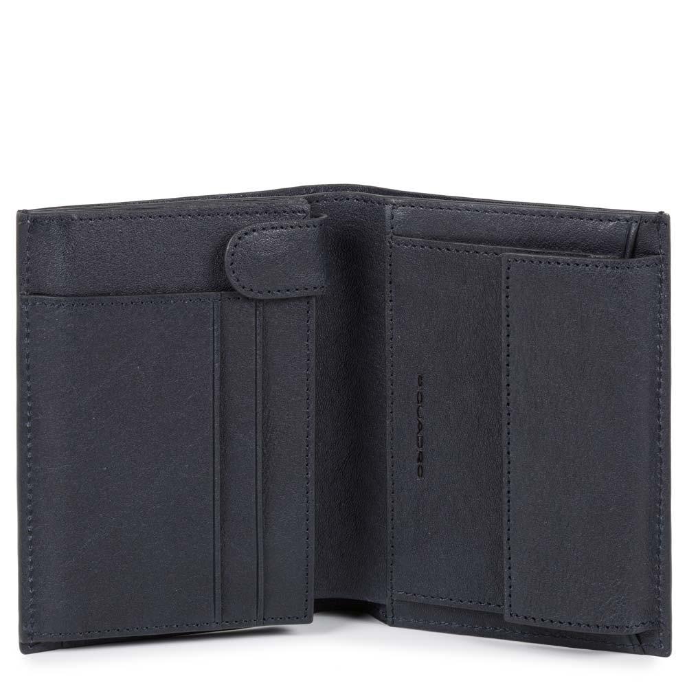 vendita outlet comprare chiaro e distintivo Portafoglio uomo verticale con portamonete - Accessori