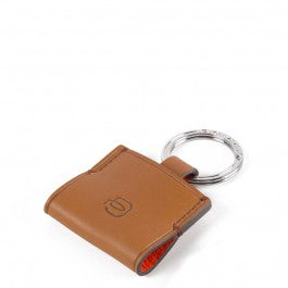 Leather key-chain with CONNEQU