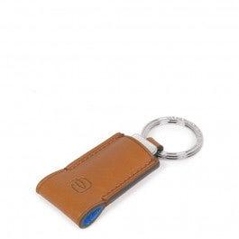 Leather key-chain with 16GB USB flash drive