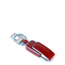 Leather keychain with 16GB USB flash drive