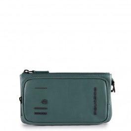 Bolso de mano con compartimento para smartphone