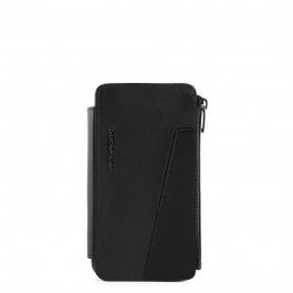 Smartphone cover with detachable essential wallet