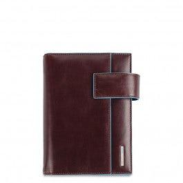 Medium leather organiser with