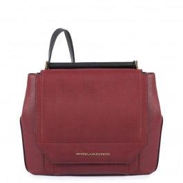 Ausdehnbare Damentasche im Hochformat