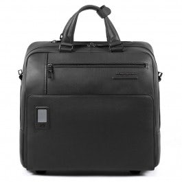 Slim, wheeled, personalizable computer briefcase w