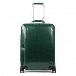 Kabinenlaptoptrolley mit iPad-Fach, Kleidersack