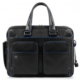 """Expandable computer briefcase with iPad®10,5"""""""