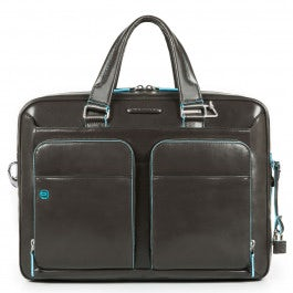 Portfolio computer briefcase with iPad®