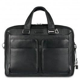 Slim portfolio computer briefcase with iPad®Air/Ai