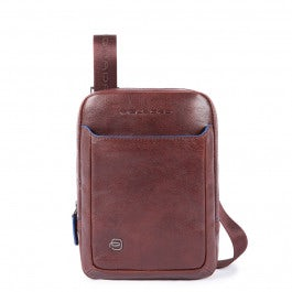 Organized crossbody bag with iPad mini compartment