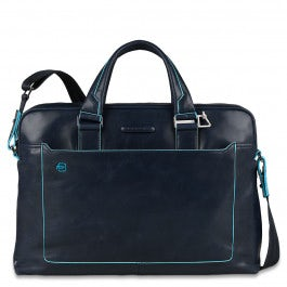 Double handle computer portfolio briefcase with iP