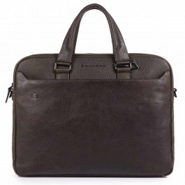 """Two-handle briefcase with two 10.5""""/9.7"""" laptop"""