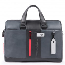 Computer portfolio briefcase with iPad® compartmen
