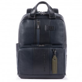 Two-handles computer backpack with iPad® compa