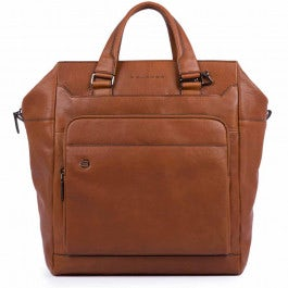 Vertical two-handle laptop bag, compartment and