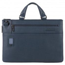 Expandable, personalizable, slim computer bag
