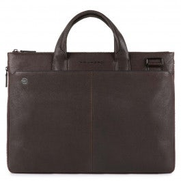 Small expandable laptop briefcase with