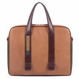 Slim portfolio computer briefcase with iPad®
