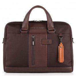 "10.5""/9.7"" laptop/iPad® two-handle briefcase,"