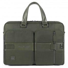 Portfolio computer briefcase with iPad®