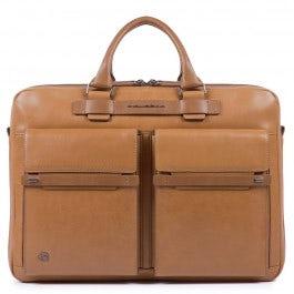 Computer, fast-check portfolio briefcase