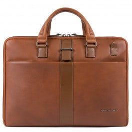 Slim computer portfolio briefcase
