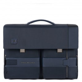Flap-over computer bag with iPad® compartment