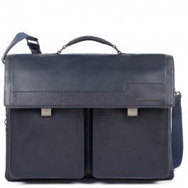 Computer briefcase with iPad® compartment