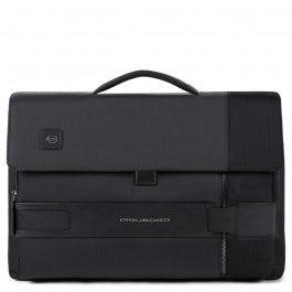 Maletín porta ordenador y porta iPad® con solapa