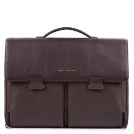 Computer bag with two front pockets