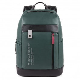 Computer backpack with shock absorbing protection