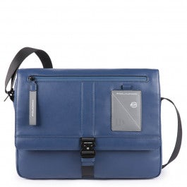Computer messenger bag with iPad® compartment