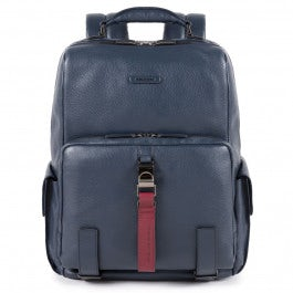 Laptop and iPad® backpack with bottle/umbrella poc