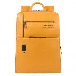 Expandable, personalizable, slim computer backpack