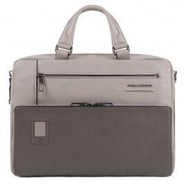 Personalisierbare Kurzgrifflaptoptasche mit iPad®-