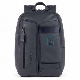 Computer backpack with iPad® compartment, anti-theft cable and RFID anti-fraud protection