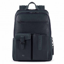 Big size, computer backpack with iPad® compartment, RFID anti-fraud, pocket for bottle or umbrella