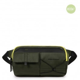 Bum bag in recycled fabric