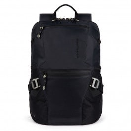 Laptop and iPad® backpack in recycled, antiviral f