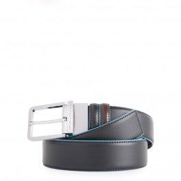 Cinturón hombre reversible con hebilla de clavo