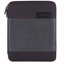 Slim, zip-around A4 notepad holder