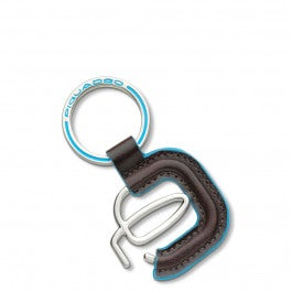 Piquadro Logo Alu-Schlüsselanhänger