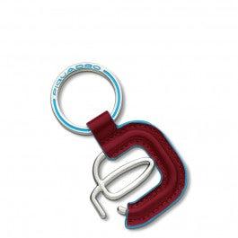 Piquadro logo keychain
