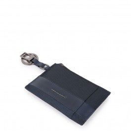 Key-ring with coin pouch