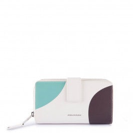 Women's wallet with coin case, credit card slots