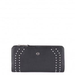 Big size, women's wallet with coin pocket, credit