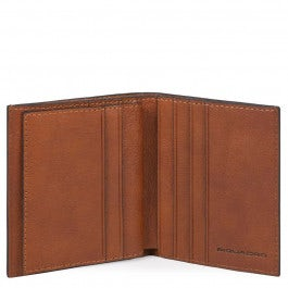 Credit card holder with RFID anti-fraud protection